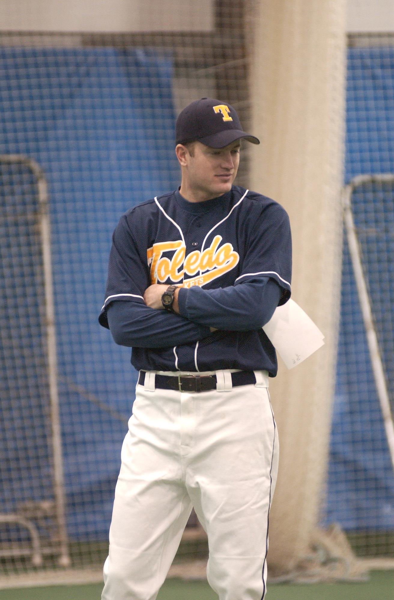 Josh Bradford Named Assistant Coach Former Rocket Volunteer Assistant Will Serve As Pitching Coach And Recruiting Coordinator University Of Toledo Athletics
