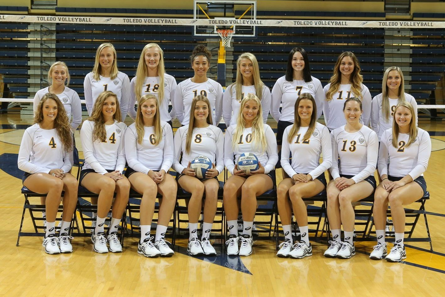 2016 Women S Volleyball Roster University Of Toledo Athletics