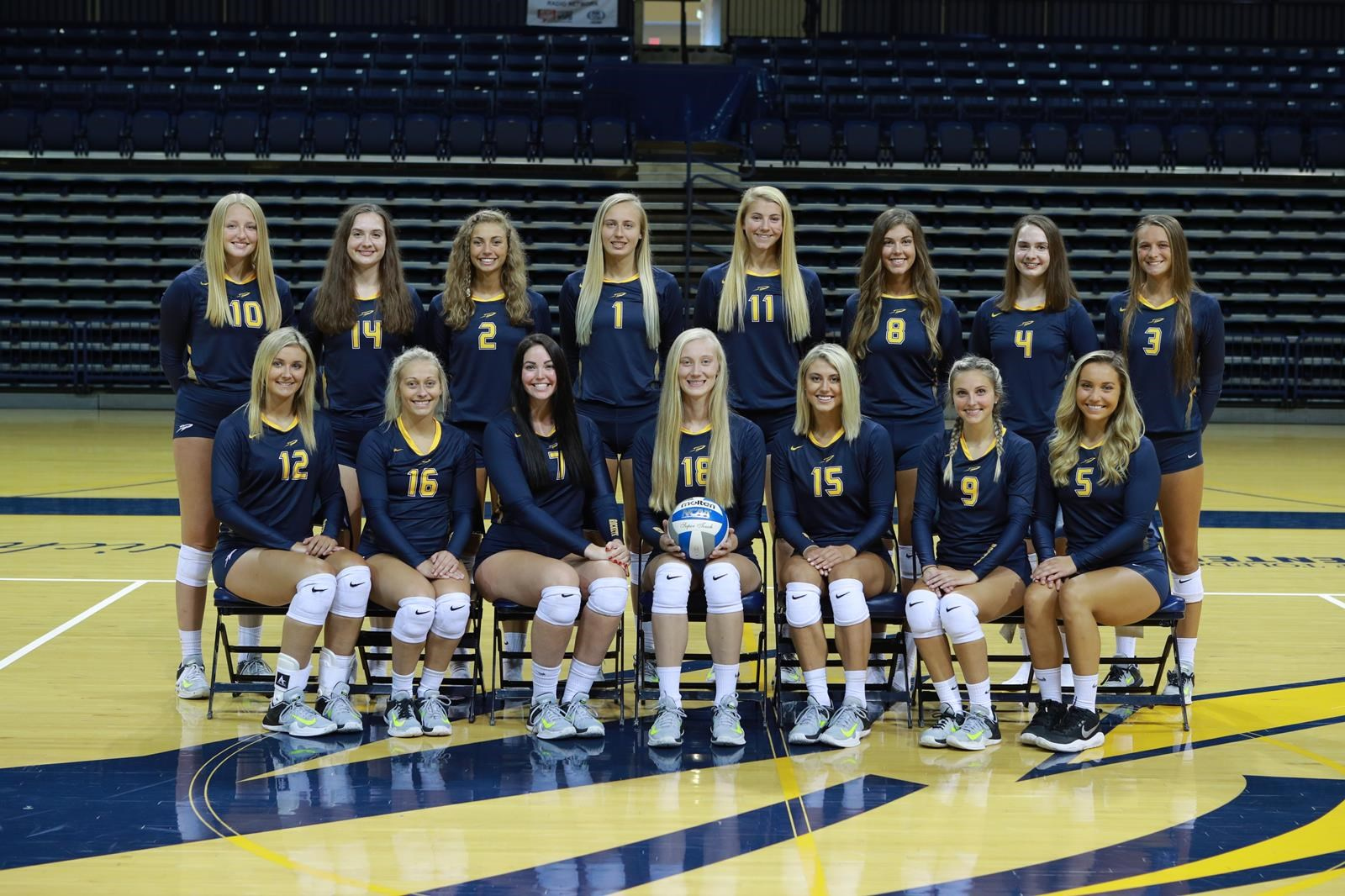 2018 Women S Volleyball Roster University Of Toledo Athletics